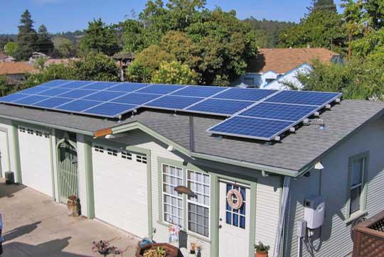 Santa Cruz Solar Home