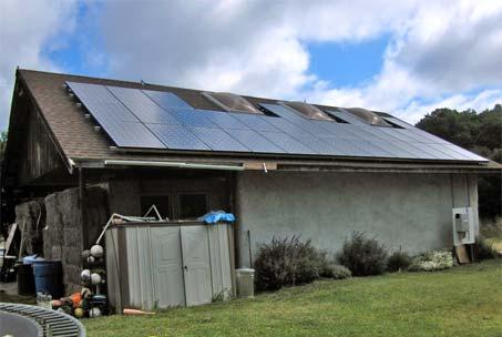 Solar Panels Santa Cruz Home